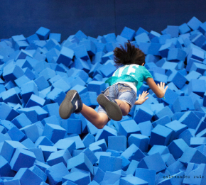 Endless Entertainment with Exercise Sky Zone Anaheim Indoor Trampoline Park