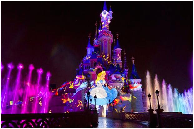 Disneyland-at-night