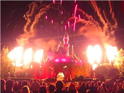 Disney at night 1999