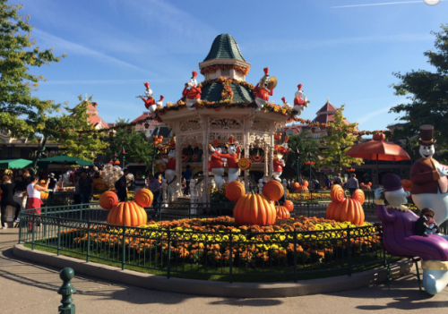 Halloween decorations  at Disneyland California