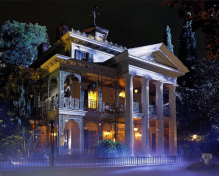 Disneyland Haunted Mansion 2014