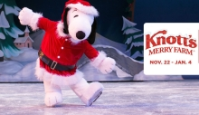 Knotts Berry Farm Chritmas Holidays 2014