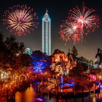Knotts Berry Farm New Year Eve 2015