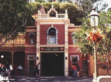 Old Fire Department in Town Square