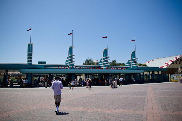 California Adventure Park Entrance
