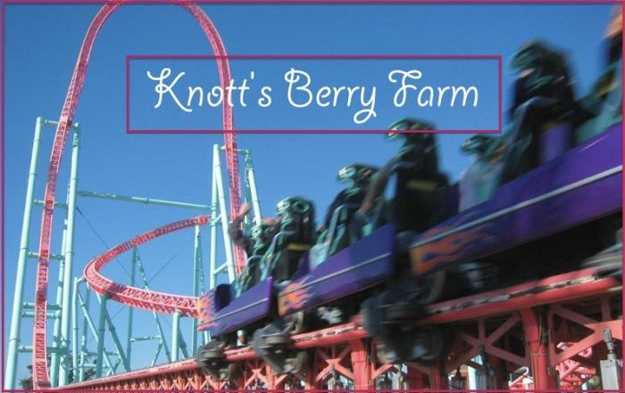 Knott's Berry Farm Travel 2015
