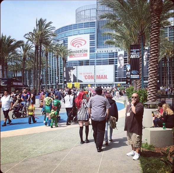 Anaheim Convention Center entrance - From WonderCon 2014 - Photo by Dave Johnson ‏@Dave_P_Johnson