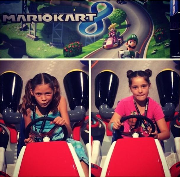 Children Playing at MarioKart8 From Wondercon 2014 - Photo by Suzi Tyler @MyCakesRock