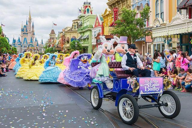Disneyland Easter Parade 2014