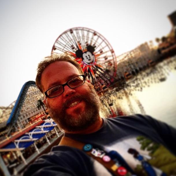 It's a Mickey #selfie!