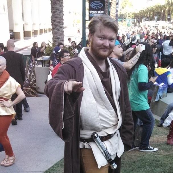 The Obi Wan Kenobi #cosplay - Photo by Joshua Kertman @HylianTimelord