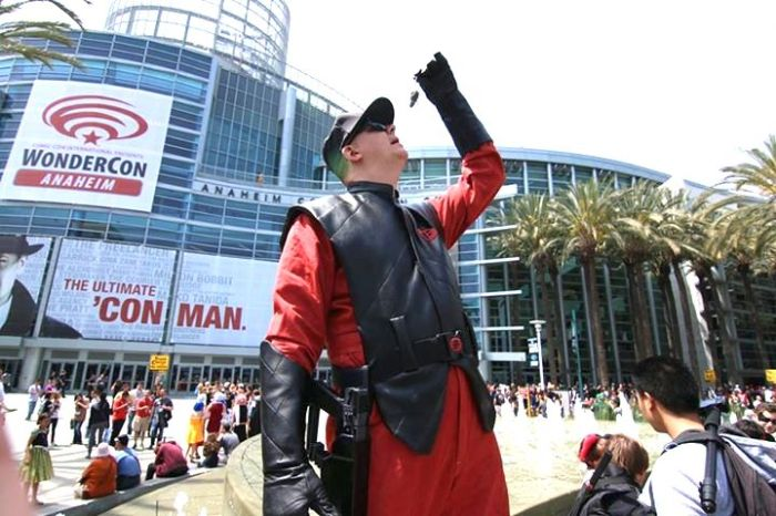 Time for a Snack! From Wondercon Anaheim 2014! Photo by Mark Edwards