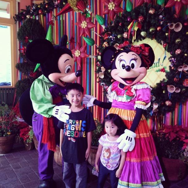 VivaNavidad with Mickey and Minnie at Disney California Adventure on November 27 2014