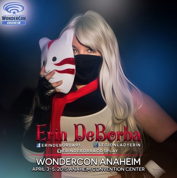 Erin will be at WonderCon Anaheim again this year! Make sure you find her and say hi ❤️👍😊 @legionladyerin