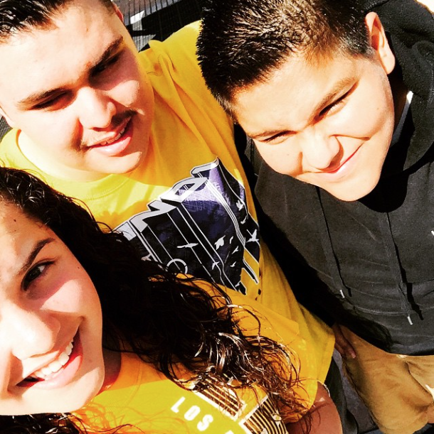Beautiful Selfie at Knott's Berry Farm - Photo credit Misael Reyes ‏@misael_reyes002