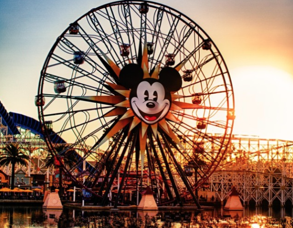 Sunsets at Disneyland Enhance the Park's Dreamlike Appeal