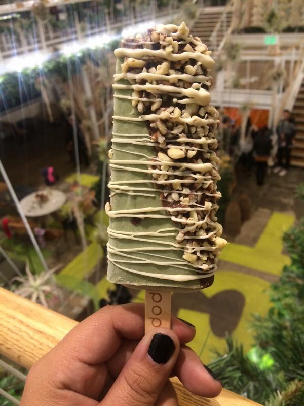 Ice-cream pistachio