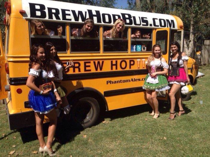 Brew Hop Bus Anaheim