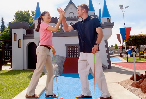 Miniature Golf Disneyland