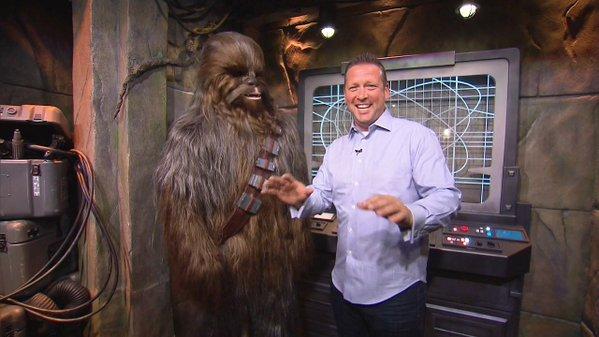 Chewbacca on TV 2015