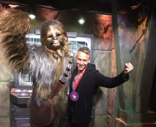 meet Chewie at Disneyland California 2016-01-09 at 10.35.22 AM